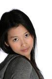 Donna asiatica attraente Fotografie Stock Libere da Diritti