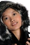 Donna asiatica attraente Immagini Stock