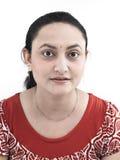Donna asiatica dell'origine indiana fotografia stock libera da diritti