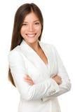 Donna asiatica di affari Immagini Stock