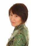 Donna asiatica felice Fotografia Stock Libera da Diritti