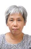 donna asiatica maggiore 60s Fotografia Stock