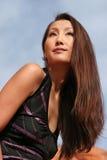 Donna asiatica sexy Fotografia Stock Libera da Diritti