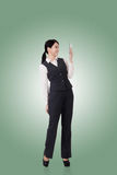 Donna asiatica sicura di affari immagini stock