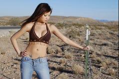 Donna asiatica Stunning Immagine Stock Libera da Diritti