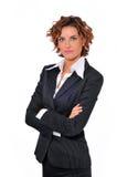 Donna assertiva di affari Immagini Stock Libere da Diritti