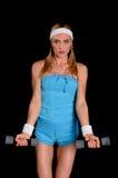 Donna atletica immagine stock libera da diritti