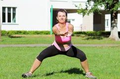 Donna atletica Fotografia Stock Libera da Diritti