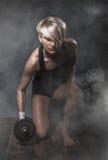 Donna atletica sportiva Fotografia Stock Libera da Diritti
