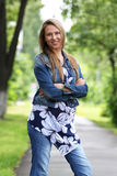 Donna attraente Fotografie Stock Libere da Diritti