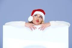 Donna attraente che tira un'espressione beffarda Fotografie Stock