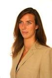 Donna attraente di affari Fotografia Stock Libera da Diritti
