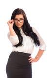 Donna attraente di affari Fotografia Stock