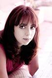 Donna bella Fotografia Stock