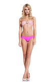 Donna in bikini fotografie stock