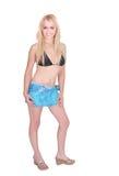 Donna in bikini immagini stock