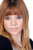 Donna bionda attraente Fotografia Stock Libera da Diritti