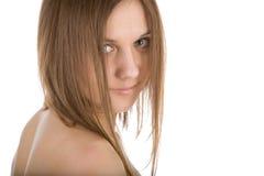 Donna bodied perfetta nuda Immagini Stock Libere da Diritti