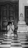 Donna buddista Fotografia Stock Libera da Diritti