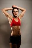 Donna in buona salute di forma fisica Fotografia Stock Libera da Diritti