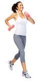 Donna in buona salute di ginnastica Immagini Stock
