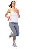 Donna in buona salute di ginnastica Fotografia Stock