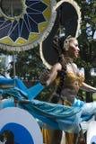 Donna caraibica al carnevale di Notting Hill Fotografia Stock