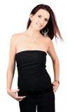 Donna casuale Fotografie Stock