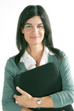 Donna casuale di affari Fotografie Stock
