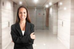 Donna casuale di affari Fotografia Stock