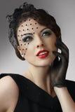 Donna Charming Immagini Stock Libere da Diritti