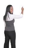 Donna che dà una presentazione Immagine Stock Libera da Diritti