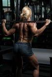Donna che fa allenamento tozzo per le gambe Fotografie Stock