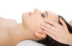 Diriga il massaggio Immagini Stock Libere da Diritti