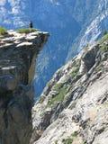 Donna in cima al punto di Taff. Fotografie Stock