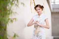 donna cinese asiatica Immagini Stock Libere da Diritti