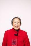 Donna cinese più anziana Immagini Stock Libere da Diritti
