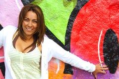 Donna colombiana Fotografie Stock Libere da Diritti
