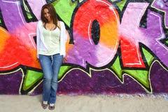Donna colombiana Immagini Stock Libere da Diritti