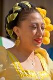 Donna colombiana Fotografia Stock