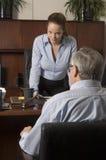 Donna - commercio, insegnante, avvocato, allievo, donna Fotografia Stock Libera da Diritti