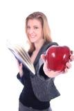 Donna - commercio, insegnante, avvocato, allievo, ecc Immagine Stock