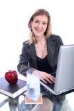 Donna - commercio, insegnante, avvocato, allievo, ecc Fotografia Stock Libera da Diritti
