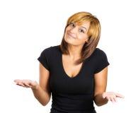 Donna con Immagine Stock Libera da Diritti