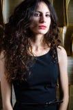Donna con bei capelli Immagini Stock Libere da Diritti
