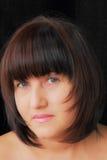 Donna con gli occhi azzurri Immagine Stock Libera da Diritti