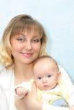 Donna con il bambino Immagine Stock Libera da Diritti