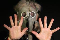 Donna con la maschera Fotografia Stock Libera da Diritti