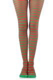 Donna con le gambe lunghe Fotografie Stock Libere da Diritti