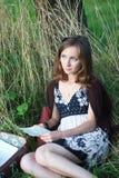 Donna con le lettere Fotografia Stock Libera da Diritti
